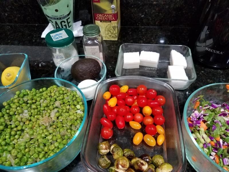 Veggie prep for the week