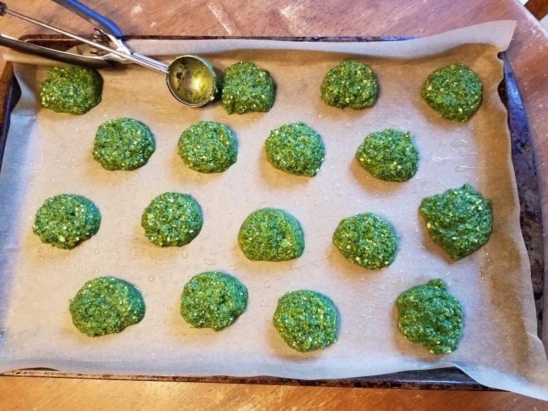 Green buns