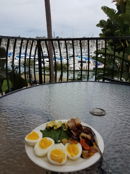 Vacation breakfast