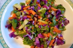 Raw veggie mix