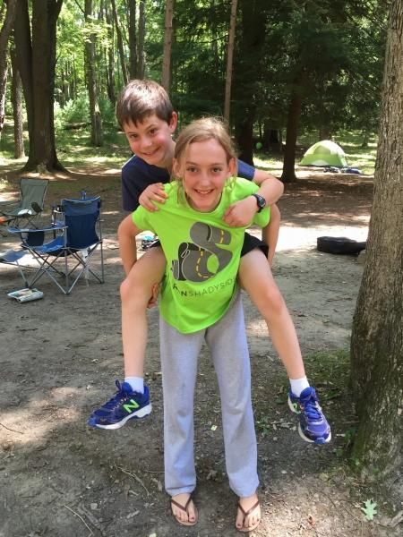 First SCD camping trip