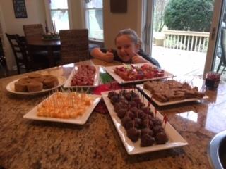 Sarah's SCD birthday spread